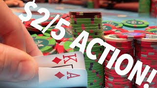 DANGER ZONE! LIMPING WITH ACES?! // Texas Holdem Poker Vlog 38