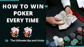How to win poker every time | Poker tips in hindi | Poker winning tips and tricks 2021|