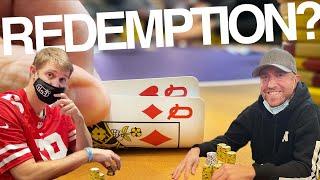 STRAIGHT FLUSHED @Brad Owen & @Andrew Neeme MEET UP GAME!!  // Texas Holdem Poker Vlog 75