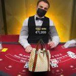 Winning a Gucci Bag on Blackjack? (Thunderpick)