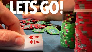 HOW TO LOSE AND WIN AT THE SAME TIME!! // Texas Poker Vlog 70