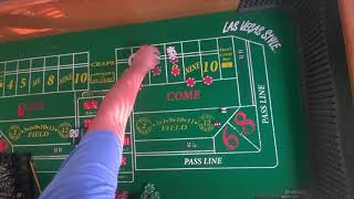 Craps! Strategy I saw at the Casino. Interesting 6 and 8 play!