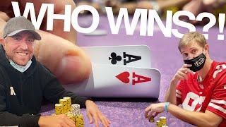 ALL-IN vs ANDREW NEEME!! // Texas Holdem Poker Vlog 76