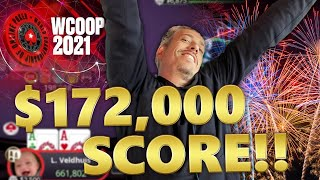 BIGGEST ONLINE SCORE OF MY CAREER!!! ♣ WCOOP 2021
