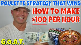 Roulette Strategy That Wins- Christopher Mitchell Shows You How To Make $100+ Per Hour.