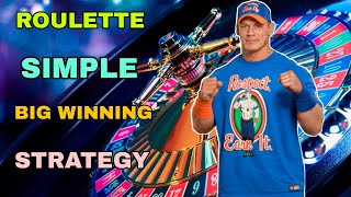 Roulette Simple & Big Winning Strategy | Roulette strategy to win | Roulette Guaranteed Strategy
