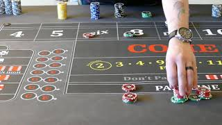 Good craps strategy?  the two and three point molly system.