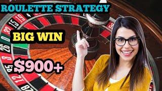 New Mega Winning Strategy🤑| Roulette big win | Roulette tricks | Roulette strategy