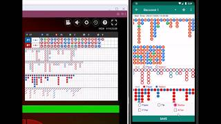 How to analyze the betting data of baccarat using this App