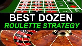 BEST ROULETTE STRATEGY FOR OUTSIDE BETS