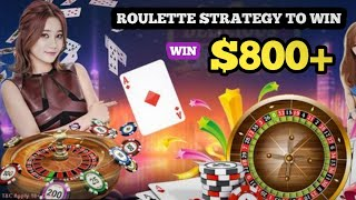 Roulette technique win every time 2021  Roulette strategy to win   Roulette channel