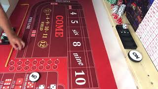 The sweetest little craps strategy this side of the Mississippi!!