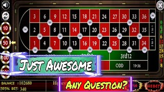✨ Most Successful 8 Minutes on Roulette || Strategy to Win Roulette || Roulette Strategy