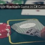 Sample Demo BlackJack Game in C# Console (Good exercise to learn OOP)