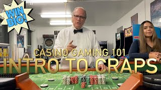 How To Play Craps (Intro To Craps)   Casino Gaming 101 [Learn How to Win Big and Play Smart!]