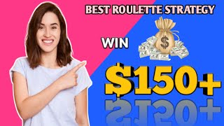 Win $150+ best roulette strategy  Roulette game   Roulette win  Roulette strategy  Roulette channel