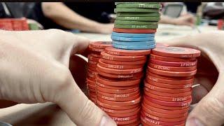 DEEPSTACK $800 BUY-IN AT $1/$3 // Texas Holdem Poker Vlog 45