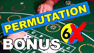LIVE DEALER   REAL MONEY   PERMUTATION   CLUSTER BETTING – Baccarat Strategy Live Play