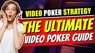 Video Poker Strategy: Best Tricks for Best Results 🃏