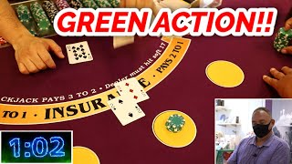 🔥 MR. GREEN 🔥10 Minute Blackjack Challenge – WIN BIG or BUST #105