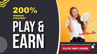 Roulette Spinwin Special Strategy | roulette strategy to win | 100% winning strategy