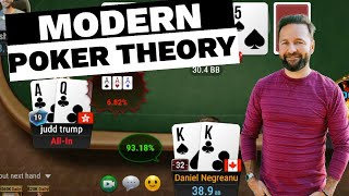 How to Use MODERN POKER THEORY – $25,000 Buy-in Super High Roller!
