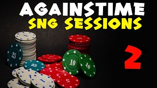SNG Coach Againstime 6-Tables $10-$20 SNGs With Poker Strategy Commentary