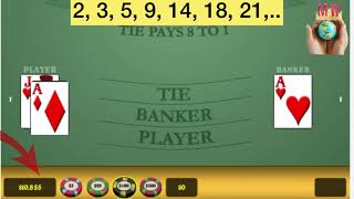 7- baccarat winning strategy. money management strategy for baccarat, Roulette, craps. #baccarat