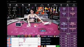 Win Big Cash Baccarat Strategy 2 using hit and run with minimum 34 unit bankroll Day 13