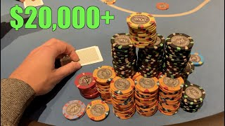 I Play BIGGEST STAKES And BIGGEST POTS Of My Life!! Must See!! Poker Vlog Ep 173