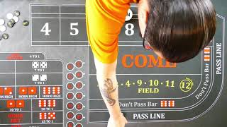 Good craps strategy?  Most basic strategy for the absolute new player.