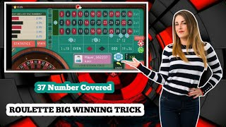 Roulette very amazing strategy🤑| Roulette strategy to win | Roulette tricks | Roulette