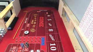 Day 2 hit and run craps strategy