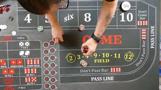 Great Craps Strategy?  The Inside Mid Press