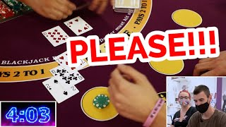 🔥 ANOTHER ONE 🔥10 Minute Blackjack Challenge – WIN BIG or BUST #108