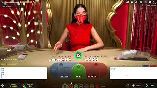 Testing my New Baccarat Strategy to win 1 unit per table