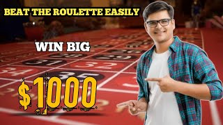 Beat The Roulette Easily 🤷  Roulette strategy   Russian roulette   Roulette game