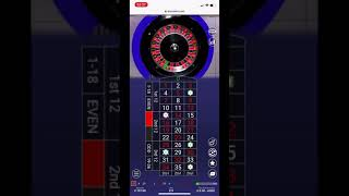 Part 2 – live roulette strategy session following patterns and winning