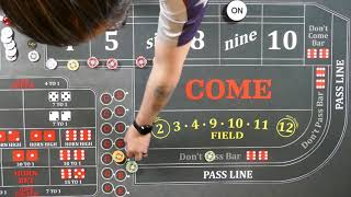 Best Craps Strategies?   Mid Press as Power Press goes to table max.