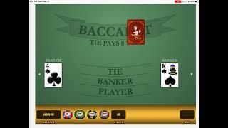 Fine tuning my BACCARAT Winning Strategy