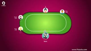 Learn How to Play Texas Holdem Poker on 9stacks!