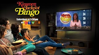 Kinsmen Jackpot Bingo October 9th 2021
