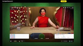 Win Big Cash Baccarat Strategy 13 using hit and run with minimum 34 unit bankroll 1st day