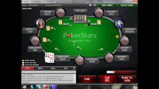 PokerStars strategy playing- How to hold you're own in Texas hold'em