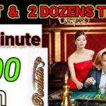 Split & Dozens Strategy || 4 Minut 500 Win Trick || Roulette